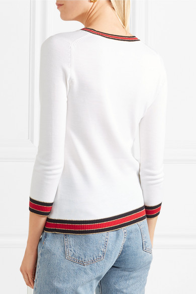 Gucci Gestreifter Pullover aus einer Wollmischung Verkaufspreise Wählen Sie Einen Besten Günstigen Preis 4b23c