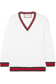 Gucci Striped wool-blend sweater
