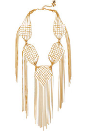 Rosantica Aquilone gold-plated necklace