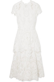 Jonathan Simkhai Guipure lace midi dress