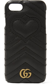 GG Marmont quilted leather iPhone 7 case