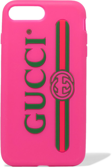 3009f3809c Gucci | Silicone iPhone 7 and 8 Plus case | NET-A-PORTER.COM