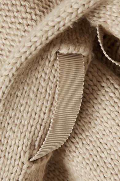 ADEAM Kapuzenjacke aus einer Baumwollmischung mit Ripsband