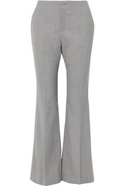 Adeam Crepe flared pants