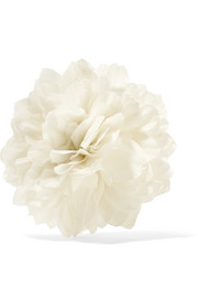 Gucci Floral silk brooch