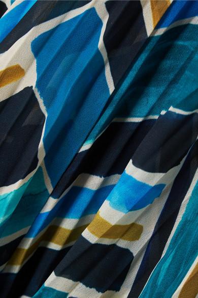 Billig Größte Lieferant Talitha Bedrucktes Chiffon-Maxikleid mit Verzierungen Bester Preiswerter Großhandelspreis Mit Paypal Niedrigem Preis b2dQkxx