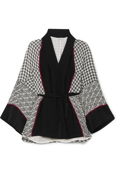 9ee66a69093 Talitha   Printed silk crepe de chine robe   NET-A-PORTER.COM