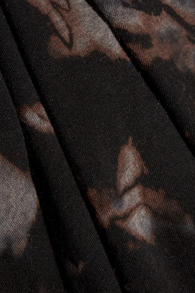 Raquel Allegra Leggings aus Jersey aus einer Stretch-Baumwollmischung mit Batikmuster