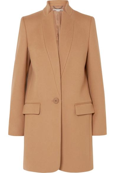 Stella McCartney - Bryce Melton Wool-blend Coat - Camel