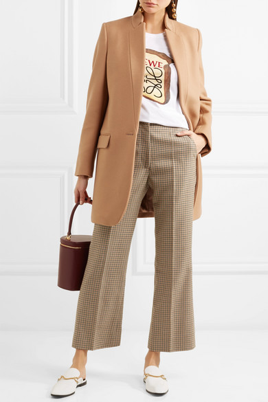 Stella Mccartney Coats Bryce melton wool-blend coat