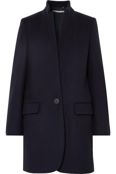 Bryce Melton Wool Blend Coat by Stella Mc Cartney
