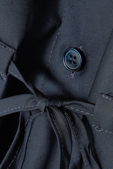 Stella McCartney Hemdblusenkleid aus Baumwollpopeline
