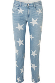 Stella McCartney Printed boyfriend jeans