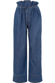 Stella McCartney Benni high-rise wide-leg jeans