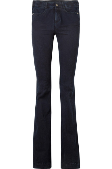 Stella McCartney The '70s hoch sitzende Schlagjeans