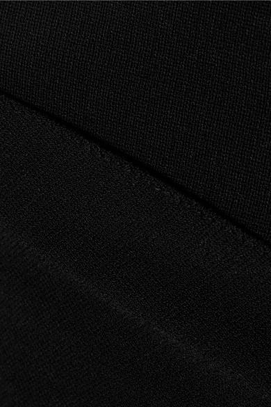 Stella McCartney Jumpsuit aus Stretch-Strick mit asymmetrischer Schulterpartie