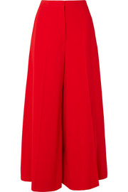 Stella McCartney Darci crepe wide-leg pants