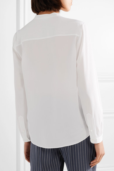 Stella Mccartney Eva Blouse Made Of Crêpe De Chine Silk From
