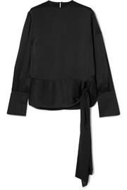 Stella McCartney Silk-satin top