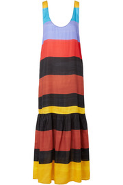 Mara Hoffman Valentina striped voile maxi dress