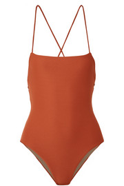 Mara Hoffman Olympia ribbed swimsuit
