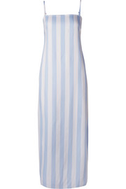 Sena striped voile maxi dress