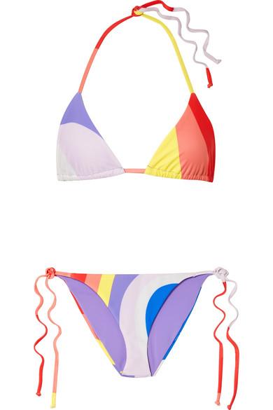 Mara Hoffman Triangel-Bikini