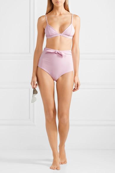 Mara Hoffman Jay hoch sitzendes Bikini-Höschen