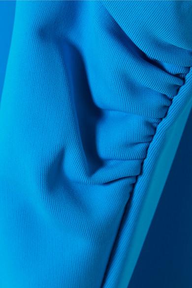 Mara Hoffman Cher Badeanzug mit asymmetrischer Schulterpartie