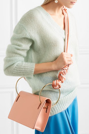 Dia leather shoulder bag