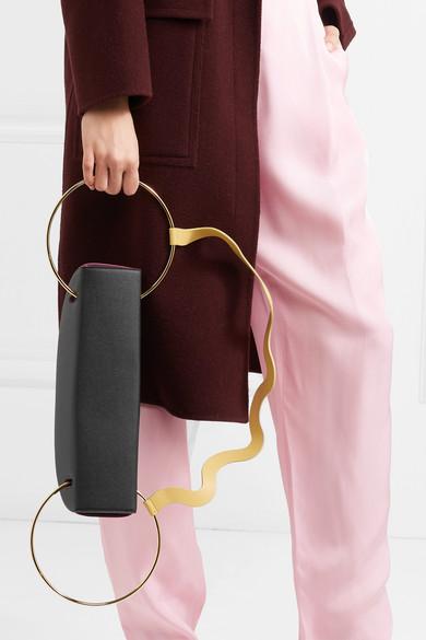Roksanda Elba Schultertasche aus strukturiertem Leder