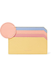 Roksanda Textured-leather cardholder