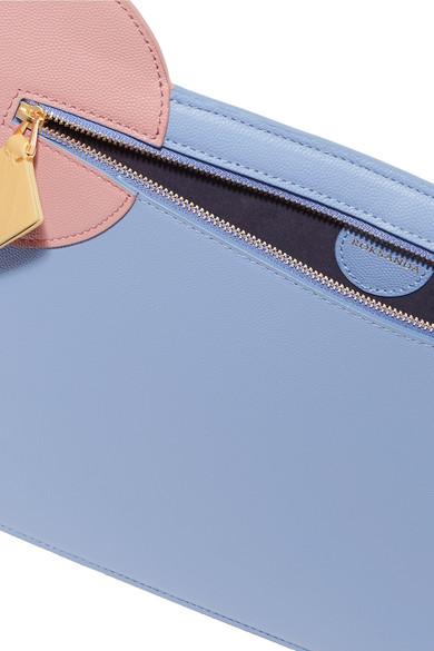 Am Billigsten Roksanda Aplin Beutel aus strukturiertem Leder in Colour-Block-Optik Rabatt Perfekt Kostengünstig Factory Outlet Günstig Online xMOohhFn