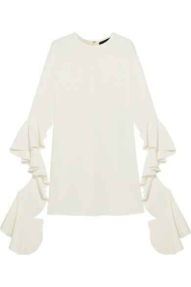 Ellery Kilkenny Minikleid aus Crêpe mit Volants