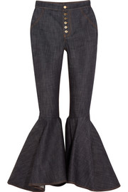 Hysteria high-rise flared jeans