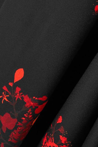 Ellery Higher And Higher Schlaghose aus Crêpe mit Blumendruck