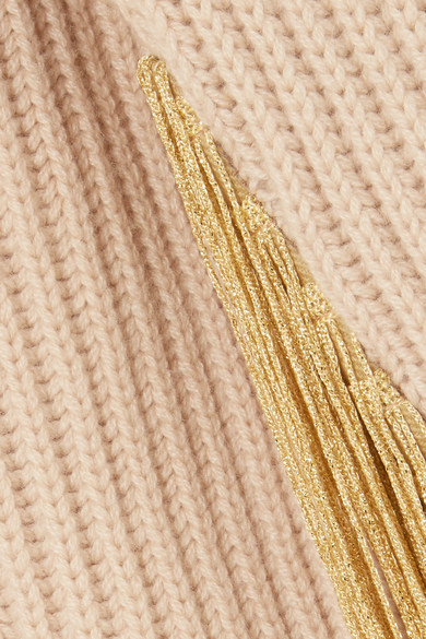 Hillier Bartley Rippstrickpullover Fray With Cashmere Turtleneck And
