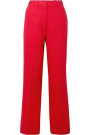 Hillier Bartley Linen straight-leg pants