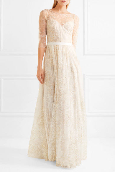 fa735d377f Marchesa Notte | Embellished tulle gown | NET-A-PORTER.COM
