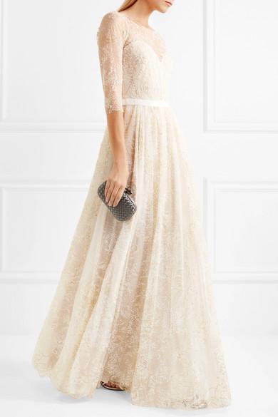 Marchesa Notte Verzierte Robe aus Tüll Rabatt Niedrigsten Preis 3Nu4PvDj