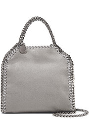 The Falabella tiny faux brushed-leather shoulder bag
