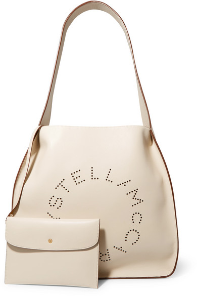 Stella McCartney Tote aus perforiertem Kunstleder