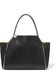 Stella McCartney The Falabella reversible faux brushed-leather tote