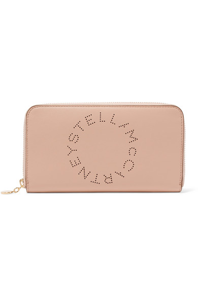 Stella Mccartney Wallets Perforated faux leather wallet