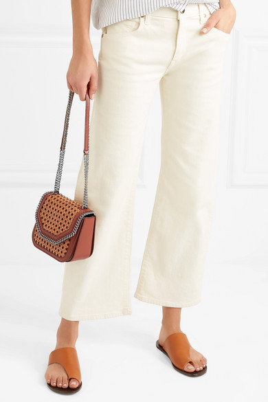 edcb42780e The Falabella Box wicker and faux leather shoulder bag.  497.50. Zoom In