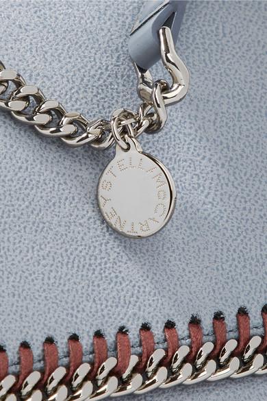 Stella McCartney Falabella Schultertasche aus gebürstetem Kunstleder