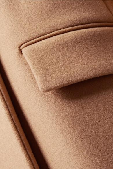 Stella McCartney Mantel aus einer Melton-Wollmischung