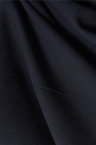 Stella McCartney Asymmetrisches Minikleid aus Stretch-Strick