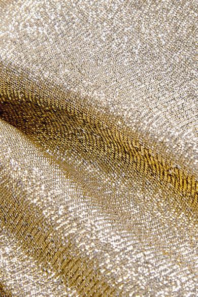 Stella McCartney Karottenhose aus Lamé