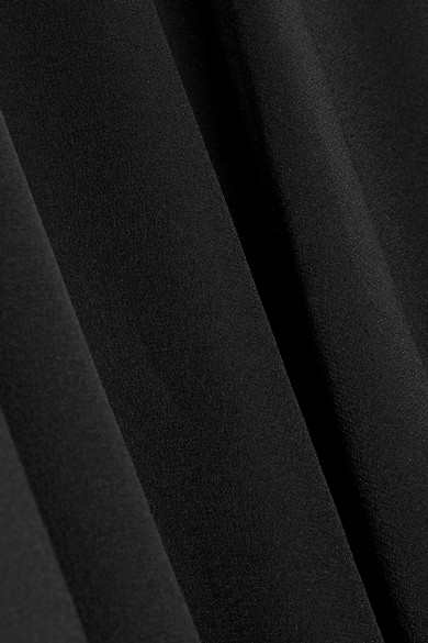 Stella McCartney Asymmetrischer Midirock aus Crêpe de Chine aus Seide